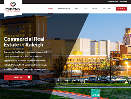 Phoenix Property Services Website