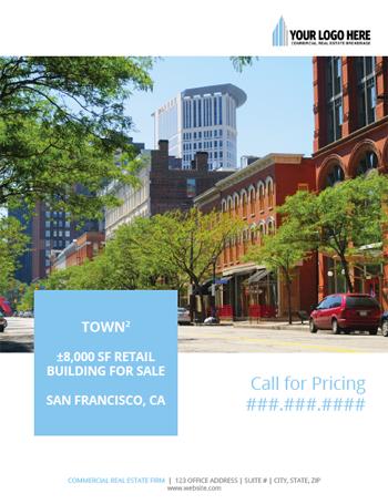Commercial Real Estate Brochure Flyer Design Designs That Sell - Fresh commercial real estate listing presentation design