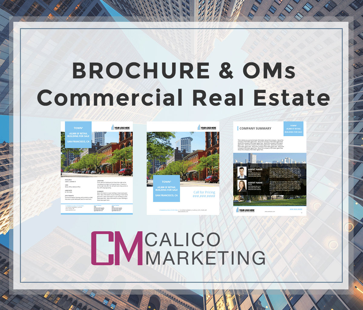 Property Rental Sites: Listing Brochure Template