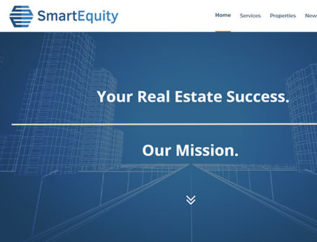 SmartEquity Commercial Real Estate Website